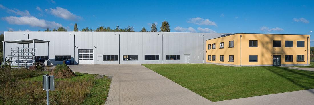 Industrieansiedlung; Foto: Ole Bader